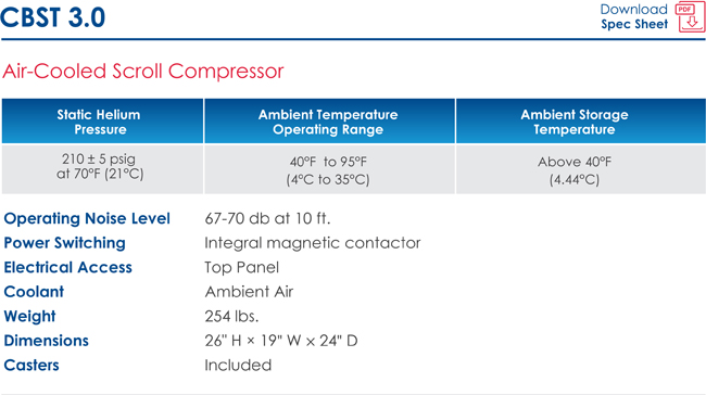 CBST 3.0 Air-Cooled Info